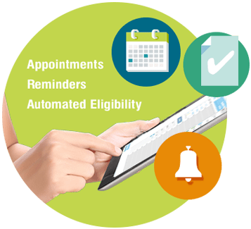 EHR appointments and reminders